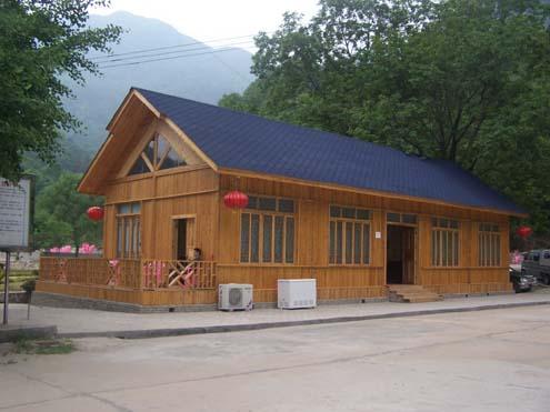 国(上海)国际木制环保住宅博览会-木结构房屋